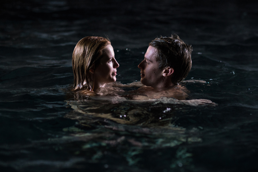 "Bella Thorne and Patrick Schwarzenegger in ""Midnight Sun."" The two reportedly had great chemistry while filming."