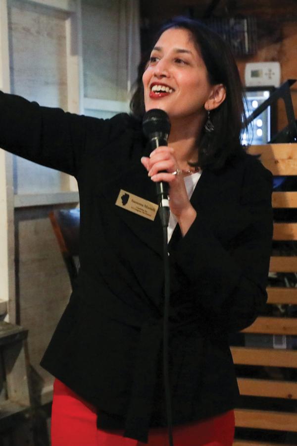 Sameena Mustafa.