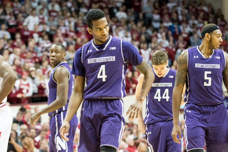 The squad looks around in disarray. Losing by 20 at Indiana was one of many less than stellar performances from the Cats this season.