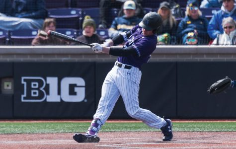 Baseball: Cold bats plague Northwestern in sweep to Michigan