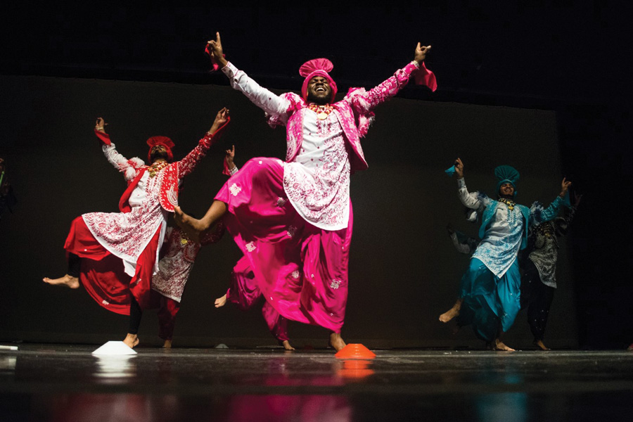 Northwestern Bhangra competes in the Crossroads of Bhangra competition at Purdue University on March 31, where they won first place. The team will compete in collegiate championship Bhangra Blowout on April 7.