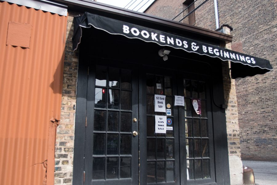 Bookends+%26+Beginnings%2C+1712+Sherman+Ave.+Owner+Nina+Barrett+said+the+store+will+host+many+events+Saturday+to+celebrate+bookstore+pride+on+Independent+Bookstore+Day.