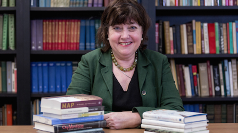 Clare Cavanagh. The Slavic professor received the American Academy of Arts and Letters 2018 Award in Literature.
