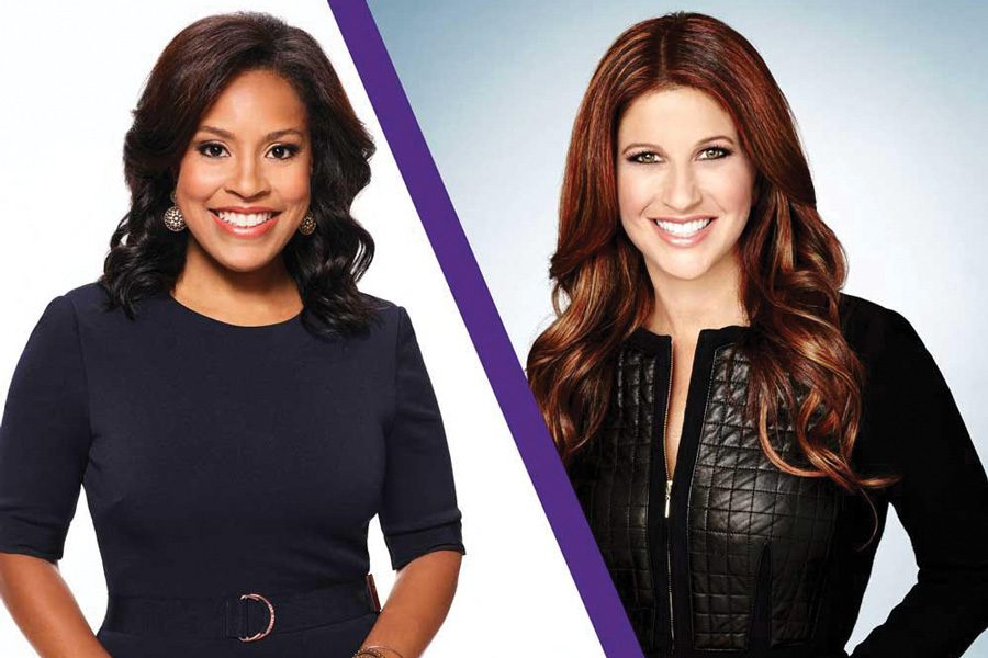Sheinelle Jones and Rachel Nichols. The two will speak at a Medill commencement ceremony on June 23.