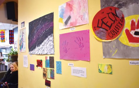 Curt's Café trainees express themselves through art program