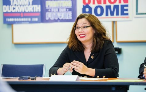 Duckworth becomes first sitting U.S. Senator to give birth