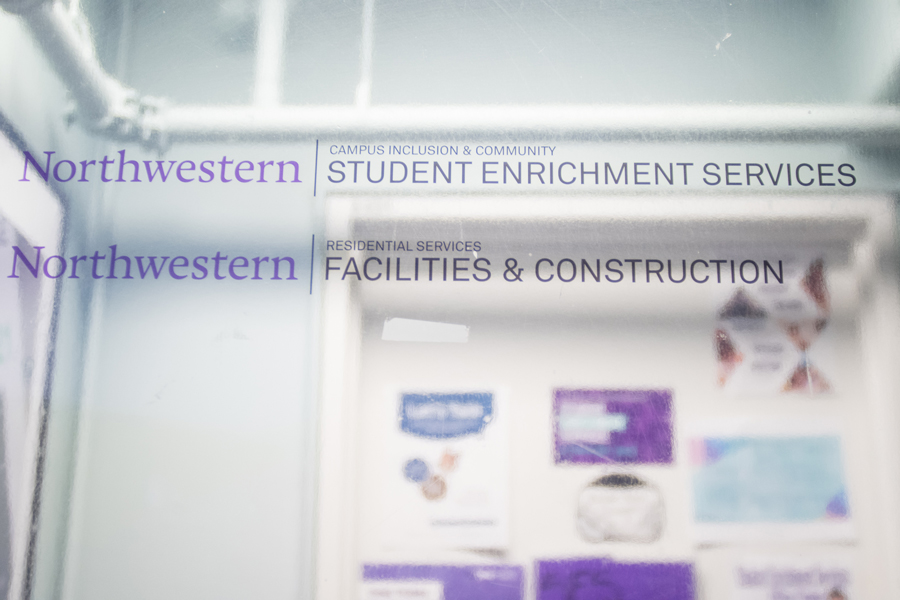 "The Student Enrichment Services office in Foster-Walker Complex. SES launched its ""I'm First"" campaign Wednesday to highlight first-generation college students."