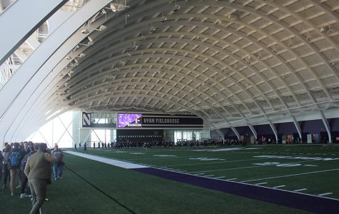 Northwestern christens Ryan Fieldhouse practice facility
