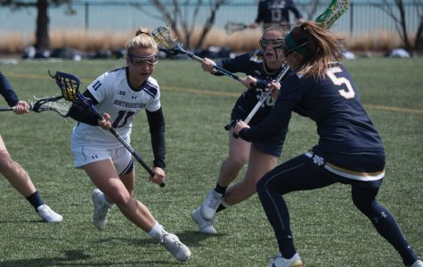 Lacrosse: Northwestern extends win streak by dominating Ohio State, Notre Dame