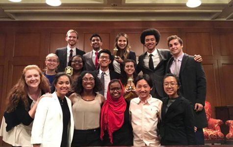 NU Mock Trial team finishes 9th in the country