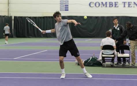 Men's Tennis: Northwestern falls to Penn State, Ohio State