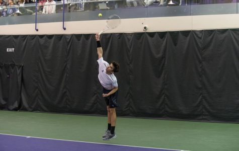 Men's Tennis: Northwestern looks to overpower Purdue