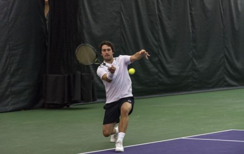 Men's Tennis: Fasano's heroics secure victory over Purdue