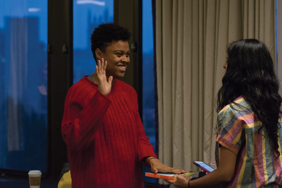Sky Patterson was sworn in as the Associated Student Government president in April. She resigned earlier this month.