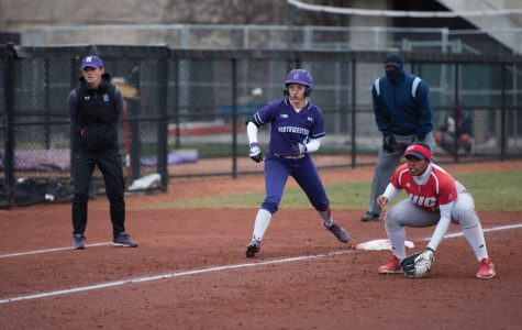 Marissa Panko looks to take off from third base. The senior shortstop is hitting .321 in conference play so far this season.