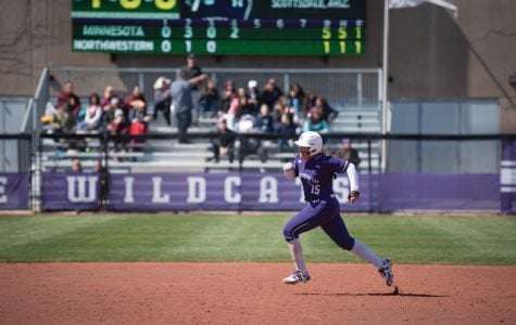 Softball: Northwestern beats Notre Dame 8-3, tying single-game record for steals