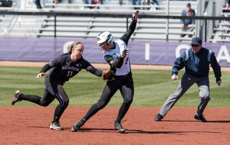 Softball: Northwestern wins on Senior Day, takes series from Iowa