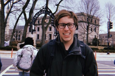 ASG elects freshman Adam Downing as speaker of the Senate