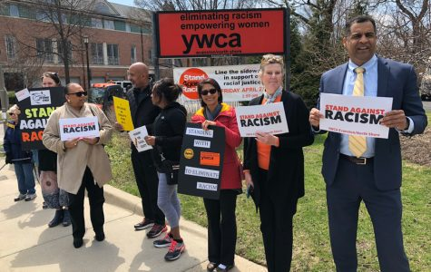 Community members participate in YWCA Stand Against Racism