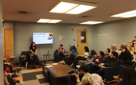 Latinx Asian American Collective updates students on departmentalization at teach-in event