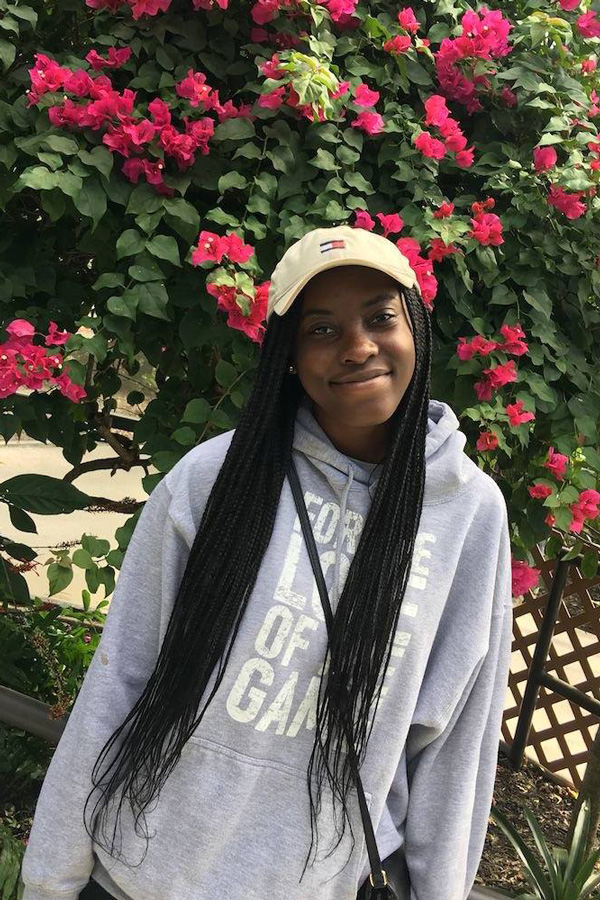 Alecia Richards. The Medill senior resigned from the position of Associated Student Government vice president for student activities.
