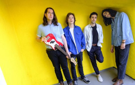 A group picture of indie-rock band Sure Sure. The band will perform at Evanston's SPACE on Saturday.