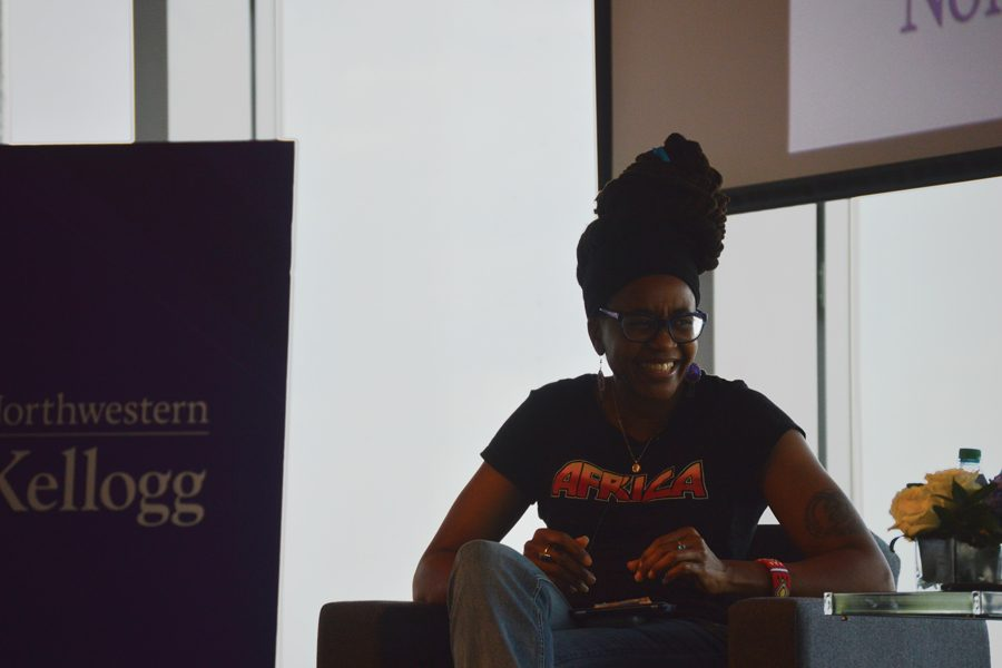 %E2%80%98Black+Panther%E2%80%99+comics+writer+Nnedi+Okorafor+speaks+at+Africa+Business+Club+event