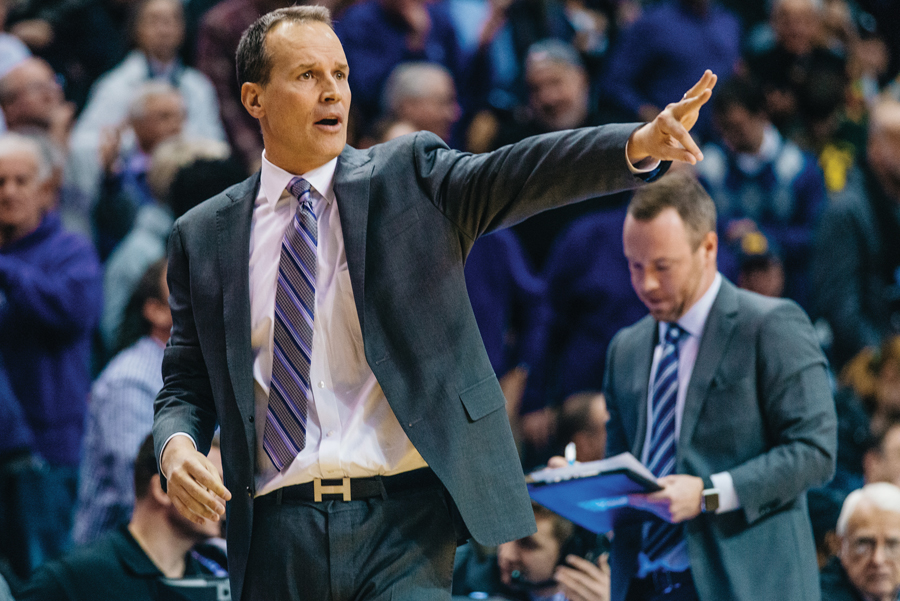 Chris Collins calls a play. The coach sat down with The Daily on Wednesday to give a number of offseason updates.
