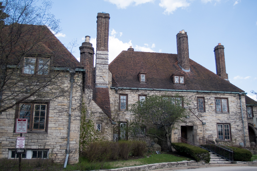 Harley Clarke mansion, 2603 Sheridan Rd. Members of the Evanston Lighthouse Dunes group announced Monday that they had secured funds to deconstruct the mansion and restore the parkland.
