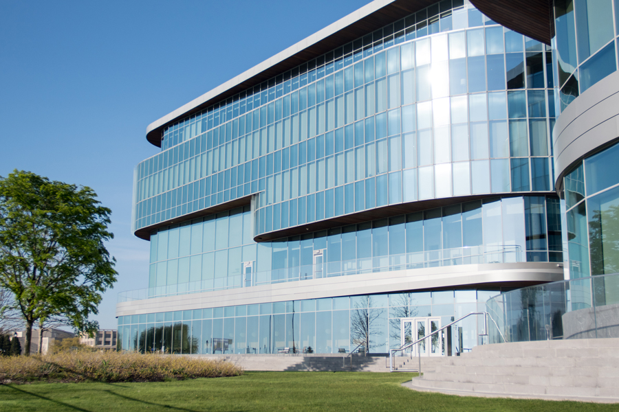 The Kellogg School of Management, 2211 Campus Dr., home of Northwestern's economics department. Economics could be recognized as a STEM major as soon as Friday, International Office director Ravi Shankar said.