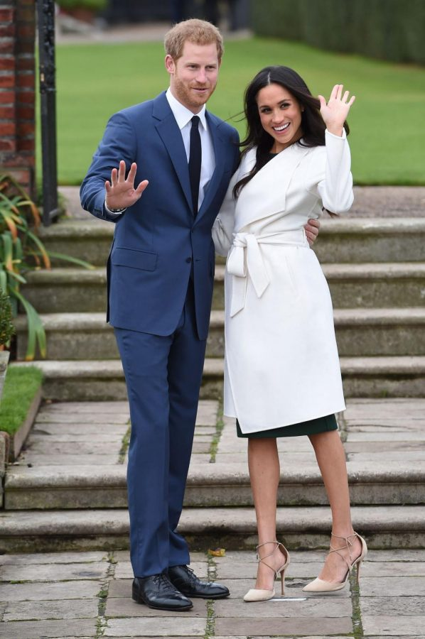 Meghan Markle's road up the steps of the palace