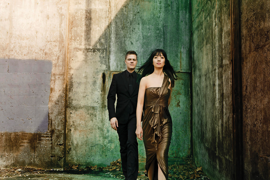 Piano duo Greg Anderson and Elizabeth Joy Roe. The pair will perform the closing concert of Bienen's third Skyline Piano Artist Series this Saturday.