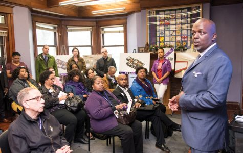Black alumni, University officials gather for symbolic groundbreaking ceremony at Black House