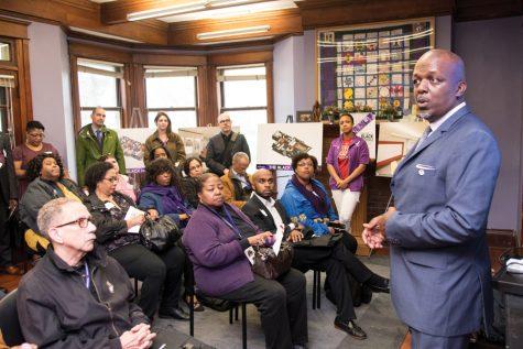 Black alumni, University officials gather for symbolic groundbreaking ceremony at Black House