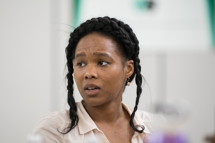 Aayisha Ruby Humphrey, director of 2nd Act Players' #MeToo Play Festival. The festival features six short plays highlighting issues surrounding the #MeToo movement.