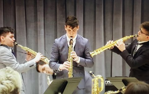 Saxophone quartet makes noise at M-Prize Competition, takes home second prize