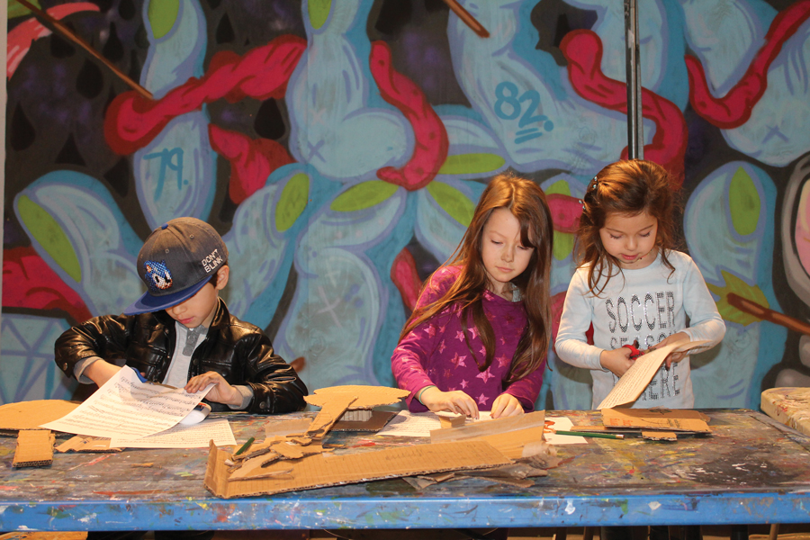 Children practicing art at a One River School. The company's Evanston branch is set to open June 2 and 3, with the opportunity to participate in trial runs of the classes.
