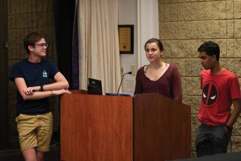 Community engagement resolution presented at ASG Senate