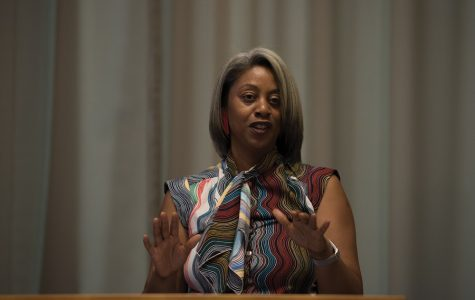 Women's Center director discusses first-generation, working-class identity at SES event