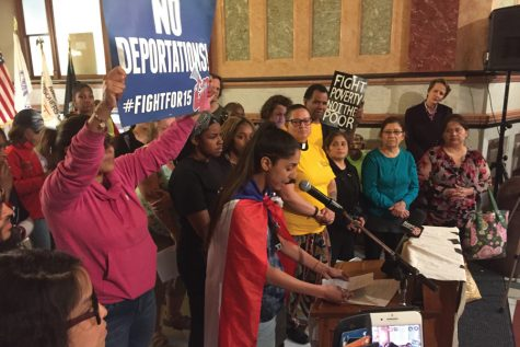 Evanston residents protest systemic racism, poverty in Springfield
