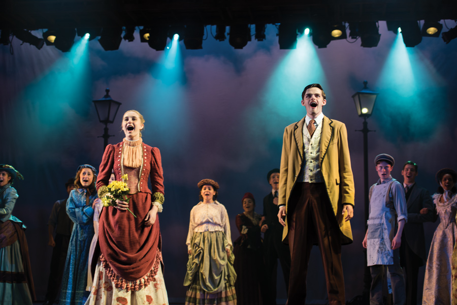 "The cast of ""Manhattan Miracle"" performs a number set in 19th century New York City. The 87th annual Waa-Mu Show is based on the creation of the first American musical."