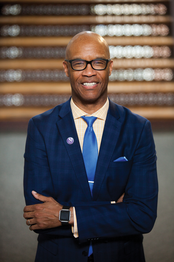 Charles Whitaker. The Medill Prof. was named interim dean of Medill on Wednesday.