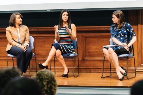 Panelists discuss entrepreneurship, benefits of social impact work
