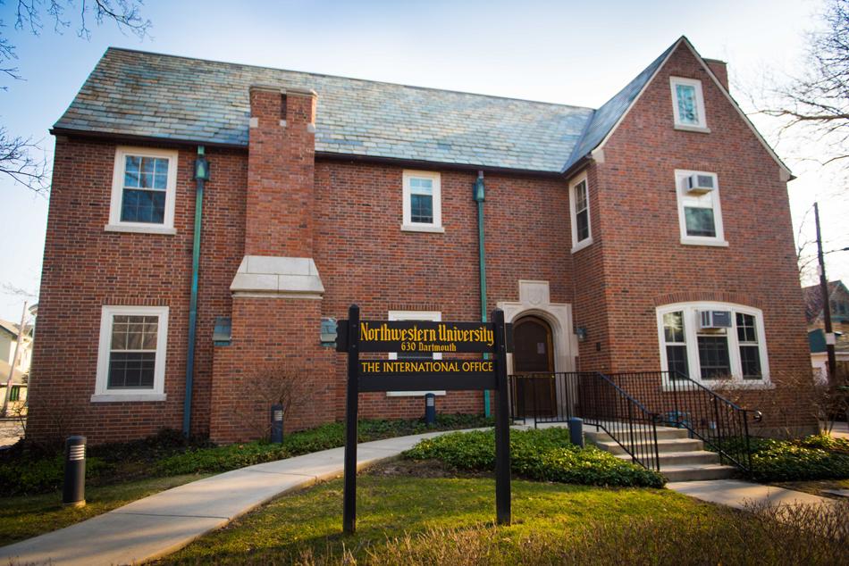Northwestern's International Office, 630 Dartmouth Pl.