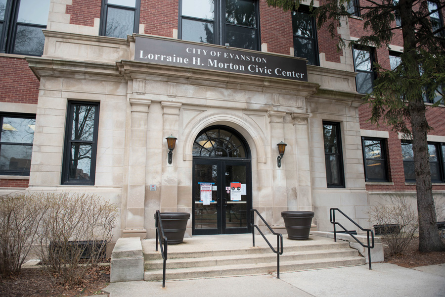 Lorraine H. Morton Civic Center, 2100 Ridge Ave. The Evanston Refugee Task Force met Tuesday to discuss future information sessions on refugees for the Evanston community.