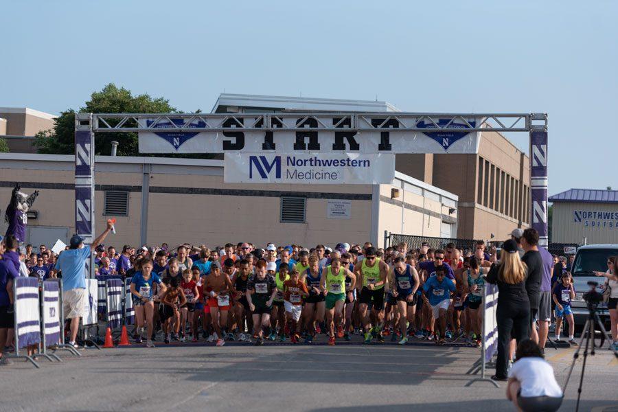 Captured: Northwestern Run for Walk 2018