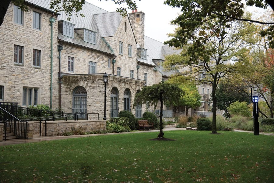 Northwestern's sorority quad. The Panhellenic Association has called for the disbandment of Greek chapters on campus following calls for abolition this summer.