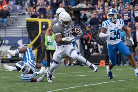 Football: Numerous squandered opportunities plague Northwestern's offense against Duke