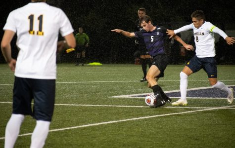 Men's Soccer: Northwestern has disastrous first half, falls to No. 19 Michigan 2-0