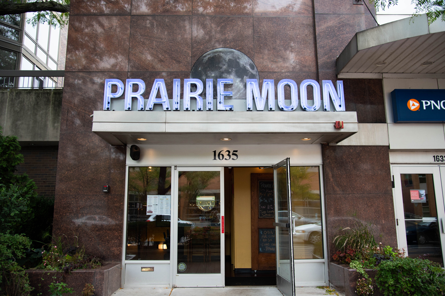 Prairie Moon, at 1635 Chicago Ave.. Following a soft open at the end of August, the restaurant celebrated its grand re-opening Sept. 28.